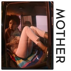 Mother The Looker Ankle Step Fray Jeans